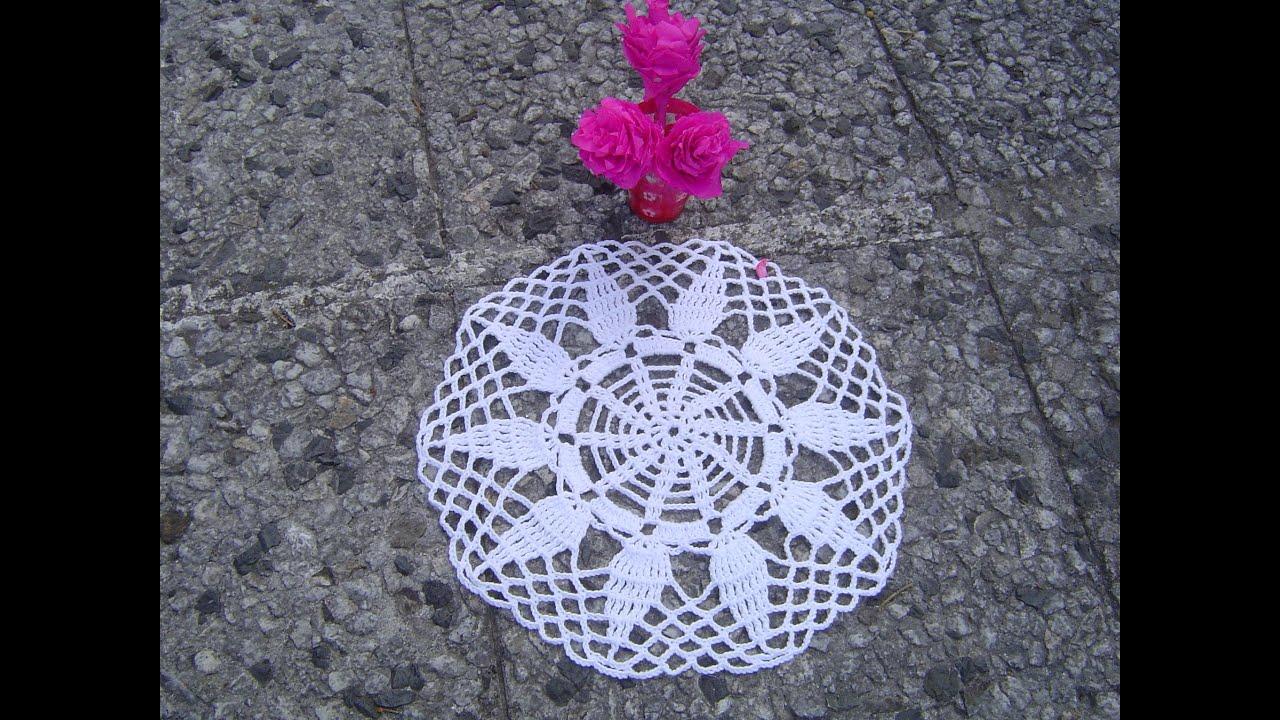 Como hacer tapete carpeta a crochet paso a paso youtube - Ideas para hacer ganchillo ...