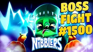 rovio nibblers boss fight level 1500 walkthrough
