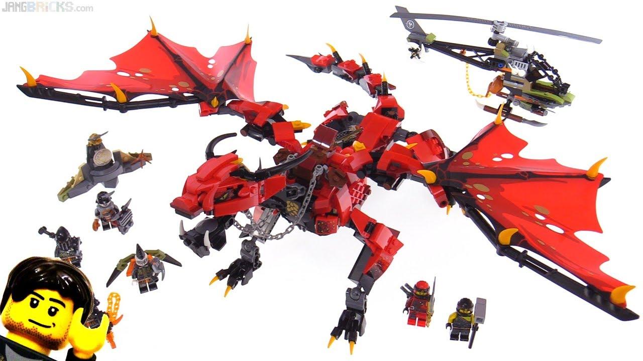 Lego Ninjago Firstbourne Dragon Set Review 70653 Youtube