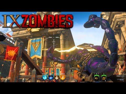 BLACK OPS 4 ZOMBIES - CUSTOM EASTER EGG CUTSCENE MODS? (Black Ops 4 Zombies  IX Easter Egg Ending)