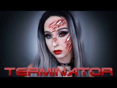 Terminator | Maquillage Halloween