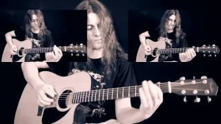 Скачать In Flames Acoustic Medley Cover С табулатурой Tab Все партии