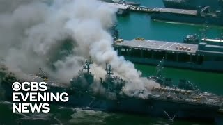 Navy Launches Investigation Into Fire Aboard Uss Bonhomme Richard