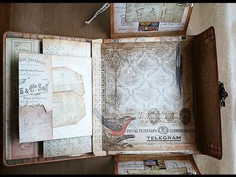 DIY: Vintage Post Folio