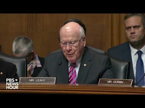 Leahy: The Senate is a weak arm of the Trump White House