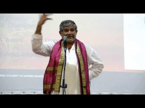 Sh. Tanikella Bharan at UKTA 4th World Telugu Literature Conference(6) in London