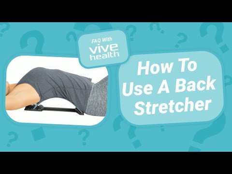 How To Use A Back Stretcher (For Lower Back Pain)