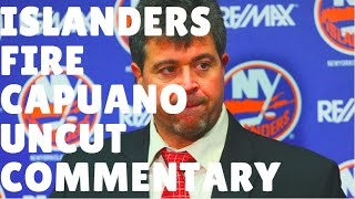 "NHL 2017 UNCUT COMMENTARY - ""ISLANDERS FIRE CAPUANO"""