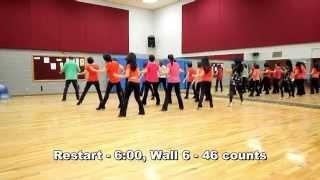 Twist & Turns - Line Dance (Dance & Teach in English & 中文)