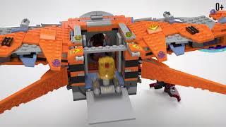 Танос: Последняя битва - LEGO Marvel Super Heroes - (арт. 76107)