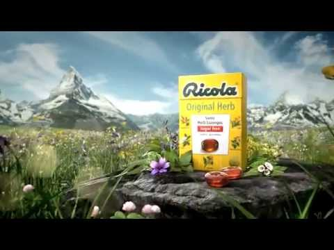 Ricola Mouthwateringly Good Swiss Herbal Sweets