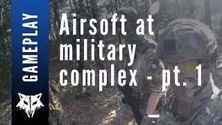 AIRSOFT at MILITARY COMPLEX part 1 - Leave No Man Behind @ BUNKERHILL