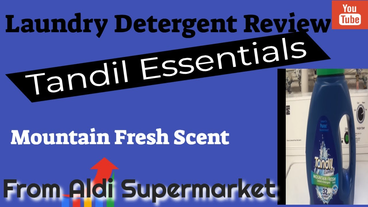 Laundry Detergent Review Tandil Essentials Mountain Fresh Scent