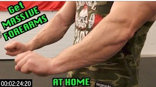 Intense 5 Minute At Home Forearm Workout thumbnail