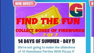 FORTNITE STW/ 14 DAYS OF SUMMER - FIND THE FUN