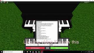 Roblox - Yiruma River Flows In You