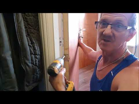 How To Fit A Concealed Door Closure
