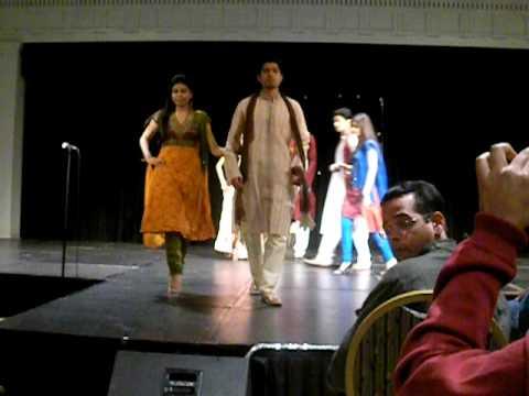 Ethnic Fashion Show SPARSH 2009 UMD (University of Maryland)
