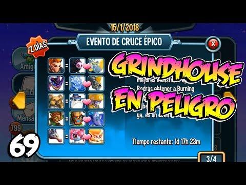 GRINDHOUSE ESTA EN PELIGRO !! Monster Legends