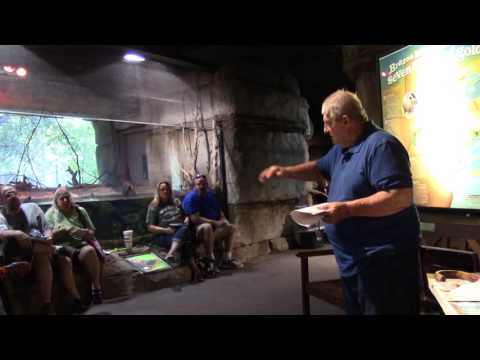 Tim Jones Austin Herp Society Cameron Park Zoo Part 1 of 5