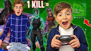 1 KILL = 1 SKIN *VERLOSUNG* to YOU!! (Fortnite FREE Skins Challenge)