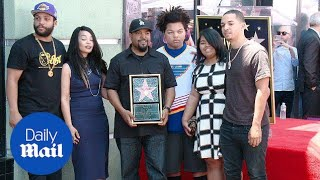 Ice Cube is honored with a star on the Hollywood Walk of Fame - Daily Mail