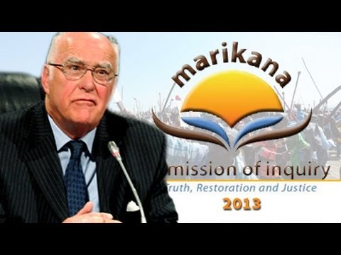 Marikana Commission of Inquiry, 25 June 2014: Session 3