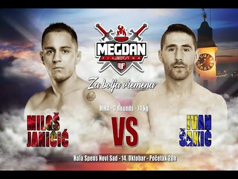 Milos Janicic vs Ivan Sakic- Megdan 7