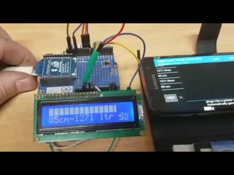 Arduino With Water Level Sensor With Code Doovi