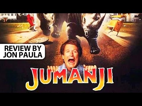 Jumanji -- Movie Review #JPMN