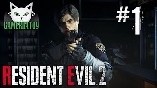 (Part 1) Let's Play: Resident Evil 2 Remake [BLIND] - Beautiful & Spooky