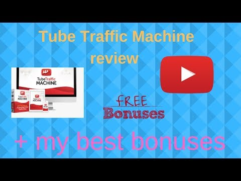 Tube Traffic Machine Review Tube Traffic Machine honest review + best bonuses. http://bit.ly/2MJ2nrE