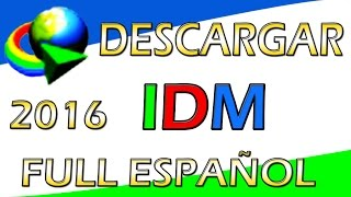 Descargar Internet Download Manager 6.25 Build 14 Full Crack Nuevo 12/03/2016