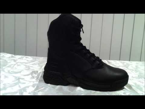 dce092ed637 Magnum Stealth Force 8 0 Leather Side Zip Mens Boots - YouTube