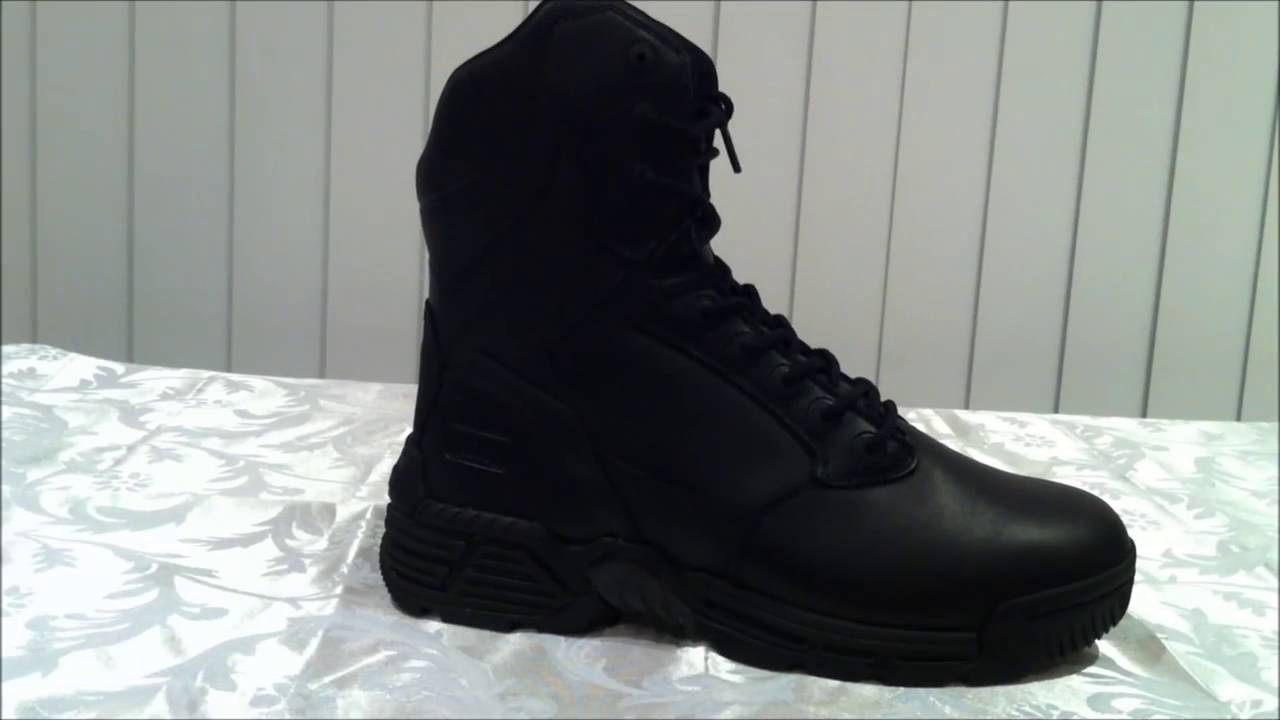 0c3b30c8f61 Magnum Stealth Force 8 0 Leather Side Zip Mens Boots