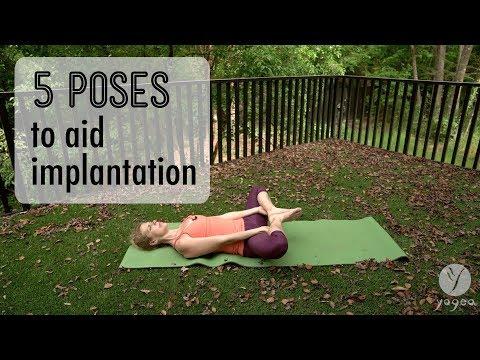 5 Poses to aid implantation