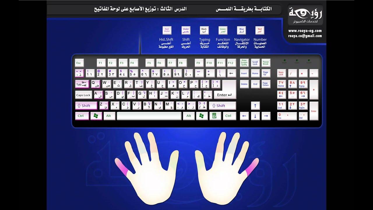 تحميل برنامج تعليم الكتابة على الكيبورد عربى وانجليزى