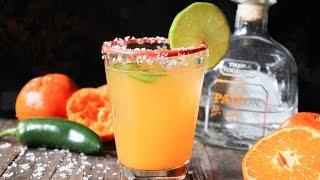 Clementine-jalapeño Margarita