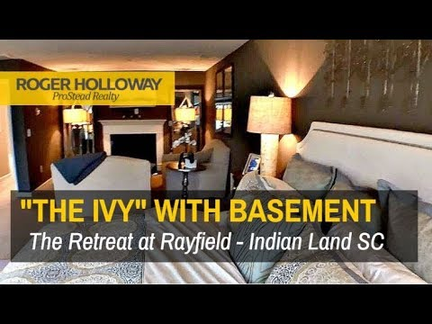 Lennar Homes in Indian Land SC - IVY with Basement