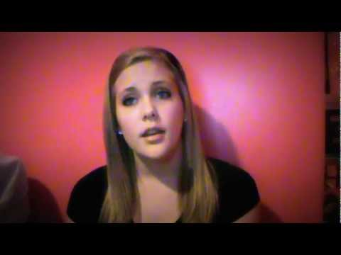 Because of You-Kelly Clarkson(cover by brooke) - YouTube