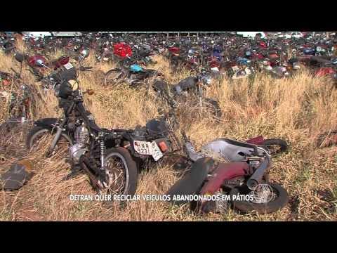 BALANÇO GERAL - Detran quer reciclar veículos abandonados em pátios