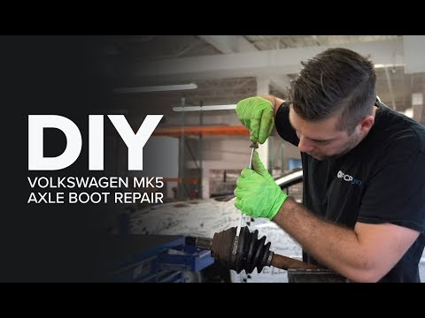 Outer Passenger CV Axle Boot Replacement - DIY(2007 MK5 GTI )
