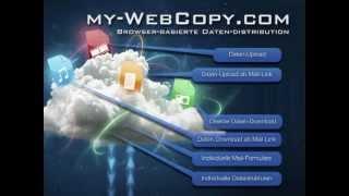 «WebCopy», die Datenverteilung mit Zusatzfunktionen und Web-Browser-Interface