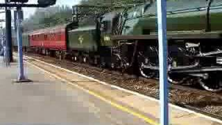 70013 Oliver Cromwell from Shenfield