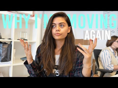 THE REAL REASON WHY I'M MOVING AGAIN.. THE EXPLANATION | WEEKLY VLOG