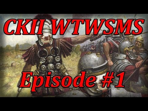 Let's Play CKII West Rome Episode 1 (When in Rome)