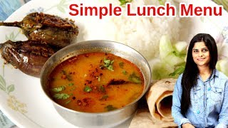 Daily North Indian Lunch Menu Routine | Healthy and Tasty 30 min Veg Lunch Menu Recipes