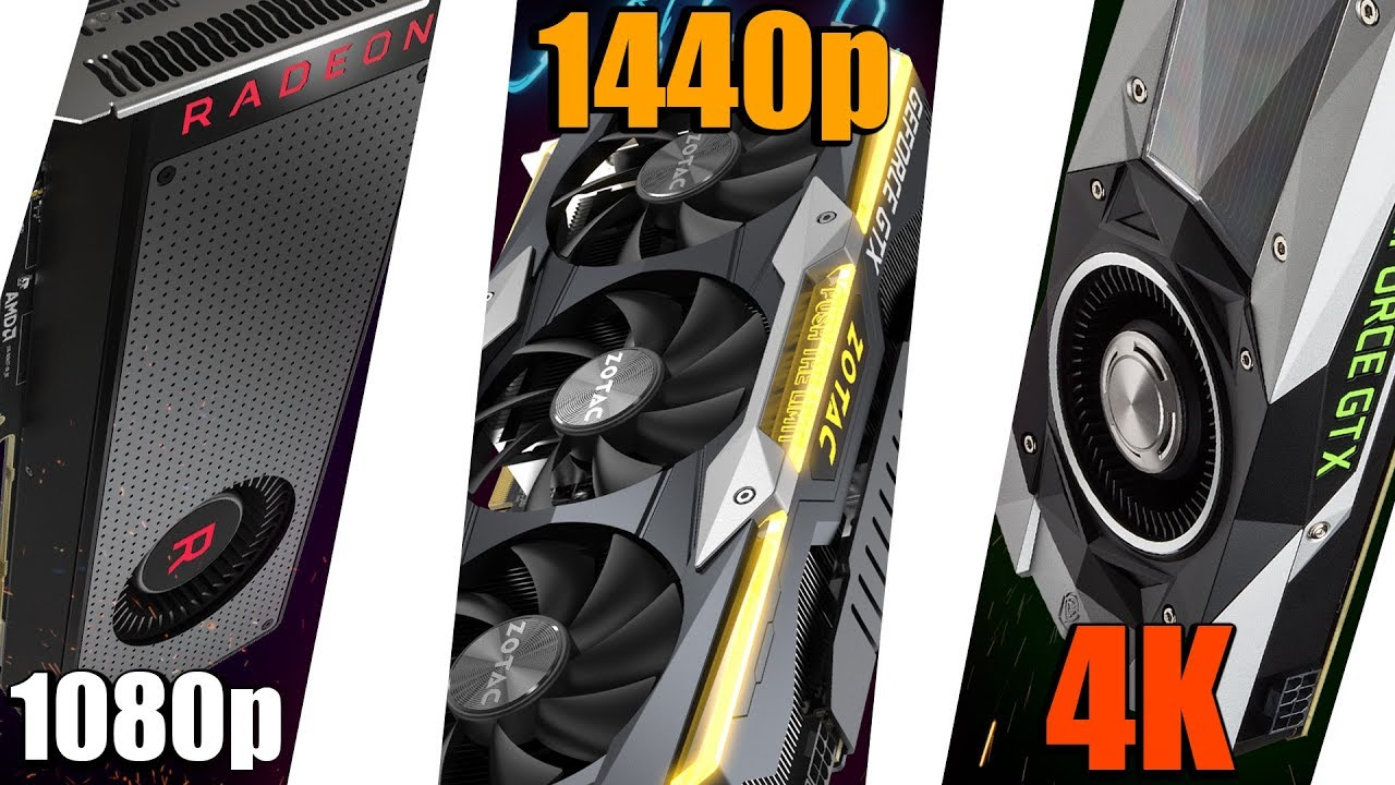 The Best Graphics Card For Each Resolution!! - 1080p, 1440p, AND 4K
