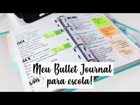 Como eu me organizo! (Meu bullet journal!) | Ana's Studies