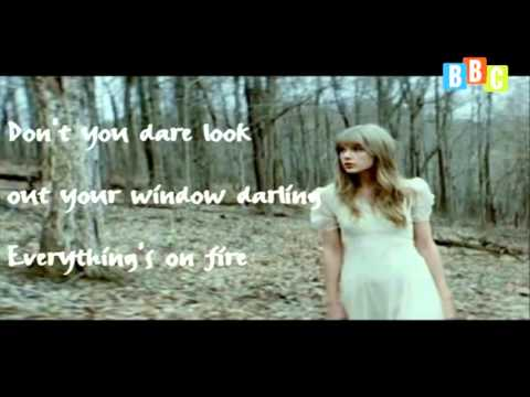 Học tiếng Anh qua bài Hát Safe and Sound, Taylor Swift